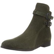 Kennel und Schmenger Schuhmanufaktur Damen Taylor Kurzschaft Stiefel, Mehrfarbig (Olive/Black 255), 38.5 EU