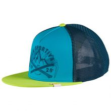 La Sportiva - Hipster Trucker - Cap Gr L;S rot/grau;blau/türkis;blau