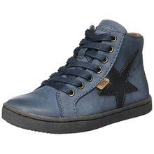 Bisgaard Unisex-Kinder Schnürschuhe Hohe Sneaker, Blau (621 Blue), 33 EU