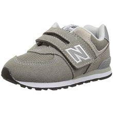 New Balance Unisex-Kinder Iv574v1 Sneaker, Grau, 23.5 EU