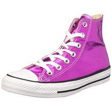 Converse Damen CTAS Hi Sneakers, Pink (Magenta Glow/Black/White), 41 EU