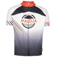 Maloja - Kid's NicolaB. - Radtrikot Gr L;M;S;XL;XXL schwarz;grau/schwarz/weiß