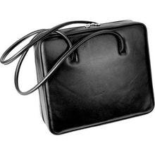 Hans Kniebes HK-Style Handtaschen & Rucksäcke Business-Tasche, Nappa-Vollrindleder, 375 x 320 x 115 mm schwarz 1 Stk.