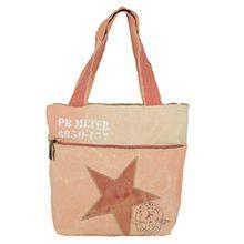 Sunsa Damen Vintage Tasche ShopperSchultertasche Handtasche aus Canvas