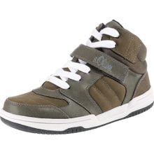 S.Oliver Junior Sneaker khaki / weiß