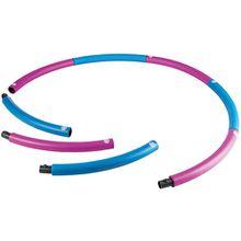 Hula-Hoop Ring, pink-blau
