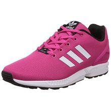 adidas Originals Unisex-Kinder ZX Flux Low-Top, Pink (EQT Pink S16/Ftwr White/Core Black), 38 EU