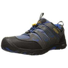 Keen Unisex-Kinder Oakridge Low WP Trekking-& Wanderhalbschuhe, Grau (Magnet/True Blue Magnet/True Blue), 38 EU
