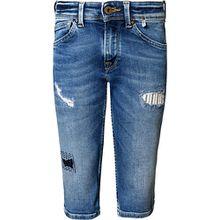 Jeansshorts CASHED  blau Jungen Kinder