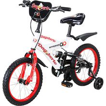 Actionbikes Kinder Fahrrad Dagoberto 16 Zoll, weiß/rot