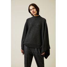 Givenchy Cashmere Cape-Pullover Grau - Cashmere