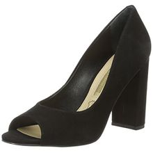 Buffalo London Damen ZS 5720-15 Nobuck Pumps, Schwarz (Black 01), 40 EU