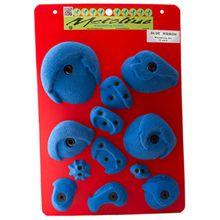 Metolius - Bouldering Set Blue Ribbon - Klettergriffe Gr 12 Holds schwarz/grau