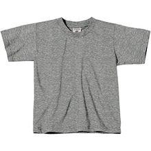 Kinder T-Shirt 'Exact 150', Farbe:Sport Grey;Größe:98-104 (3-4) 98-104 (3-4),Sport Grey