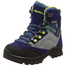 alpina Unisex-Kinder 680358 Trekking-& Wanderstiefel, Blau (Blau), 26 EU