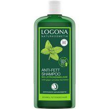 Logona Haarpflege Shampoo Anti-Fett Shampoo Bio-Zitronenmelisse 250 ml