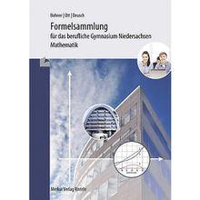 Buch - Formelsammlung das berufliche Gymnasium Niedersachsen - Mathematik  Kinder