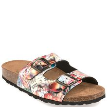 Wellness Pantolette multicolor