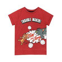 Tom & Jerry Jungen Karikatur T-Shirt 128 cm