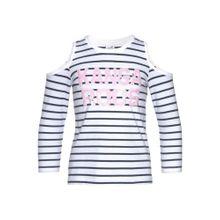 KangaROOS Shirt pastellpink / schwarz / weiß