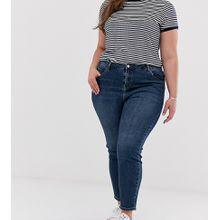 Urban Bliss Plus - Gerade geschnittene Jeans - Blau