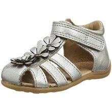 Bisgaard Baby Mädchen 71209118 Sandalen, Silber (Silver), 22 EU