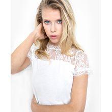 tigha Damen T-Shirt Isalie weiß (off white)