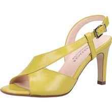 PETER KAISER Sandalen Klassische Sandaletten gelb Damen