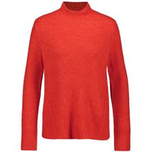 Gerry Weber Pullover Langarm Turtle Pullover Capsule Collection rot Damen