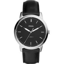 FOSSIL Uhr schwarz / silber