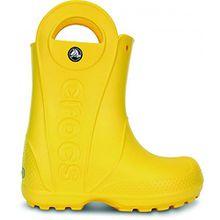 crocs Handy The Rain Kinder Gummistiefel (24/25 EU) (Gelb)