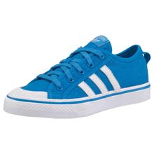 ADIDAS ORIGINALS Sneaker 'Nizza' blau / weiß
