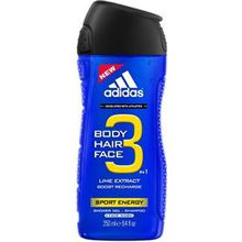 adidas Pflege Functional Male Sport Energy For Men Shower Gel 250 ml