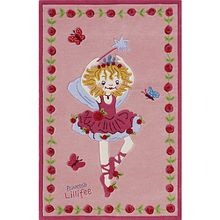 Kinderteppich Prinzessin Lillifee tanzend rosa