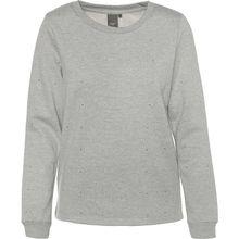 ICHI Sweatshirt grau Damen