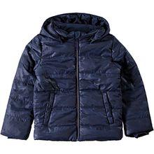Name it Jungen Winterjacke Camouflage Anorak wind- und wasserabweisend Nitmit, Größe:140, Farbe:dress blues