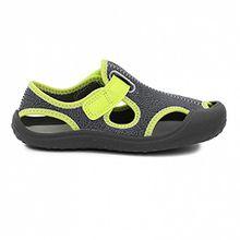 Sandalen/Sandaletten Jungen, color Grau , marca NIKE, modelo Sandalen/Sandaletten Jungen NIKE SUNRAY PROTECT,  29.5 EU, Schwarz-Grau-Grün