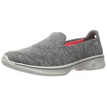 Skechers Damen Go Walk 4-Achiever Sneakers, Grau (Gry), 36 EU