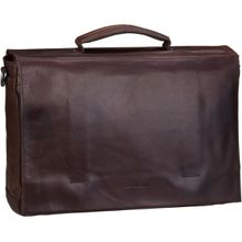 Strellson Aktentasche Coleman 2.0 BriefBag LHF Dark Brown