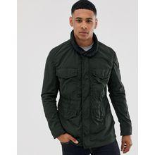 BOSS – Olisso – Khaki Feldjacke mit vier Taschen-Grün