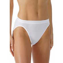 Mey Basics Noblesse Damen Jazz-Pants Weiß 38