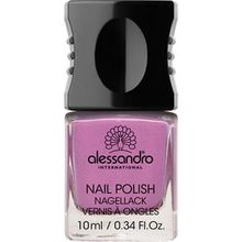 Alessandro Make-up Nagellack Colour Explotion Nagellack Nr. 190 Purple Rose 10 ml