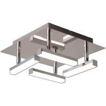 Näve LED-Deckenleuchte, inkl. Leuchtmittel, 25cm silber