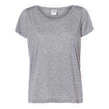 Vero Moda T-Shirt - Molly ss Top - Medium Grey