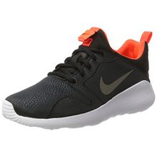 Nike Damen 844898 Sneaker, Mehrfarbig (Negro/Plata), 36 EU