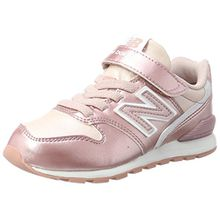 New Balance Unisex-Kinder Sneaker, Pink (Rose), 32 EU (13 UK Child)