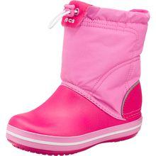 CROCS Kinder Winterstiefel Crocband Lodgepoint Boot pink Mädchen