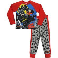 Lego Heroes Jungen Lego Batman Schlafanzug Batman & Robin 116