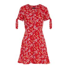 VERO MODA Kleid mischfarben / rot