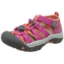 Keen Newport H2, Unisex-Kinder Trekking & Wanderhalbschuhe, Pink (Very Berry/Fusion Coral), 38 EU (5 UK)